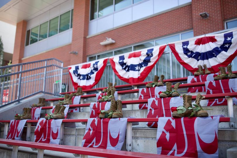 Wsu Reserves 13 Football Game Seats For Military Killed In Kabul