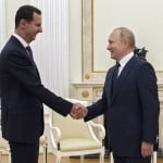 Putin And Syria's Assad Hold Talks In Moscow On Rebel Area