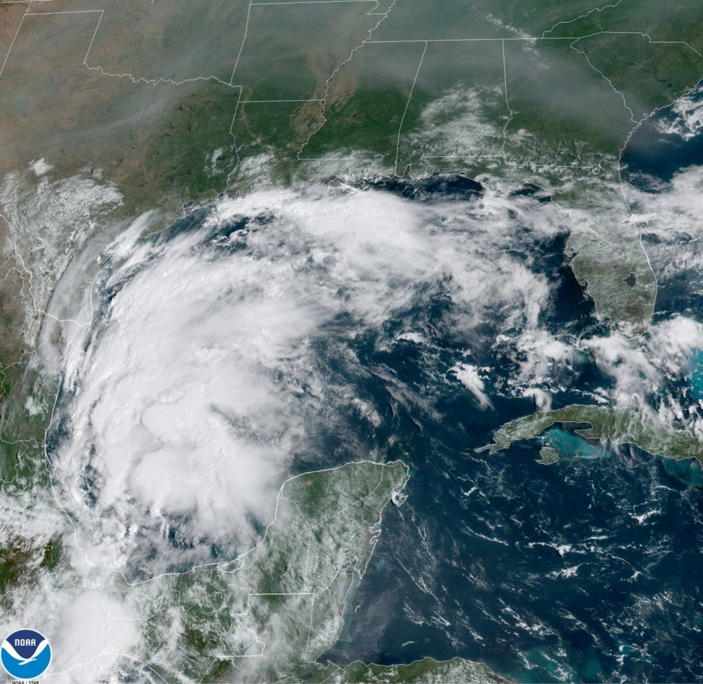 Forecasters: Tropical Storm Nicholas Forms In Gulf Of Mexico