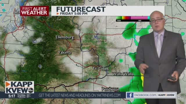 Summer Heat To Continue Thursday, With More Smoke Expected For The Yakima Area Jason