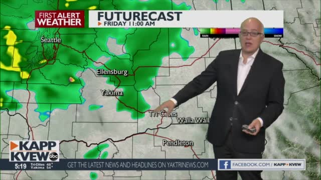 A Cool Thursday Is Ahead, With Showers Looming For This Weekend Jason