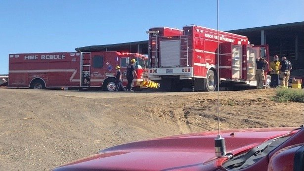 Auger incident, rescue at Franklin County farm Eltopia