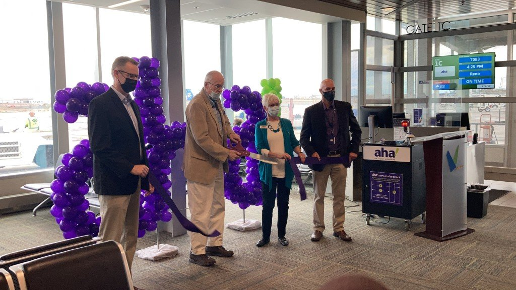 Aha! comes to Tri-Cities Airport