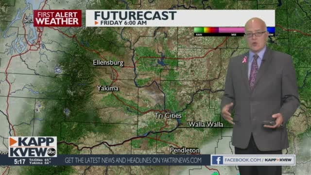 A Chilly But Sunny Thursday Is On The Way, With Even Cooler Temps Slated For Next Week Jason