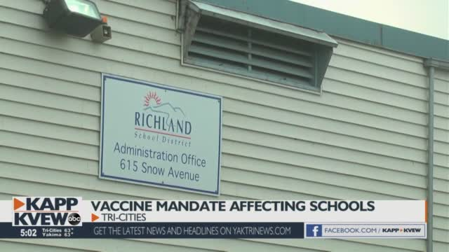 Tri Cities Area Teachers Comply With Vaccine Mandate; Over 98% Meet Requirements