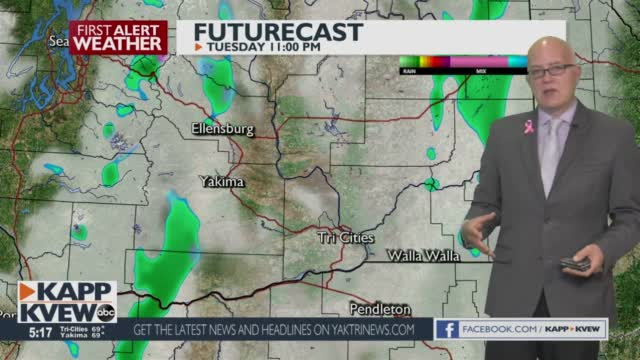 A Cool Week Is Ahead With Some Light Shower Chances In The Next Couple Of Days Jason
