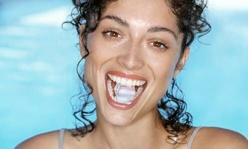 Is Chewing On Ice Cubes Bad For Your Teeth?